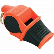 Fox 40 Orange/Black Sonik Blast CMG Whistle - USA Made/Easy To Blow/Loud