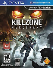 🔥 Killzone: Mercenary (Sony PlayStation Vita, 2013)