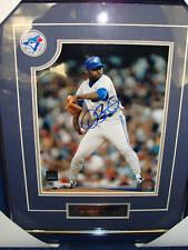 Toronto Blue Jays Dave Stewart Autógrafo 8 X 10 Enmarcado