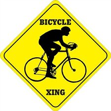 Bicycle Xing Sign
