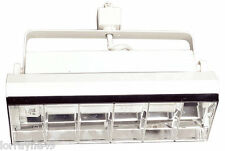 Elco ET218 18W Two Light Line Voltage Wall Wash Biax Fixture