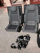 Ford S max 3rd Row Back Rear Leather Seats S-max With Seat Belts Smax  'n