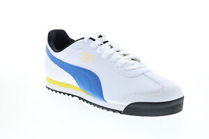 Puma Roma Basic + 36957130 Mens White Synthetic Lifestyle Sneakers Shoes