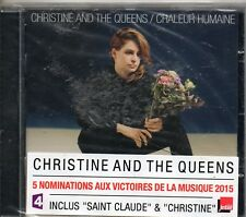 CD 1 1T  CHRISTINE AND THE QUEENS  CHALEUR HUMAINE  NEUF SCELLE  ANNEE 2014