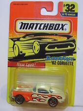MATCHBOX 1996 SUPER FAST - '62 CORVETTE #32