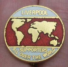 LIVERPOOL FC SUPPORTERS ALL OVER THE WORLD PIN BADGE VGC