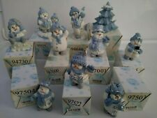 Snow Buddies Collectible Assorted Figurines W/Boxes The Encore Group Inc.