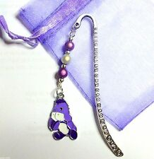 Winnie the Pooh's friend Eeyore Charm Pendant on Silver tone Bookmark Great Gift