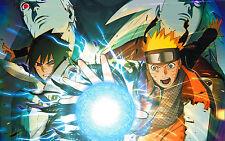 Poster A3 Naruto Shippuden Ultimate Ninja Storm 4 Sasuke Naruto 01