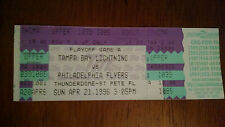 TICKET STUB LIGHTNING VS FLYERS 1996 THUNDERDOME PLAYOFFS