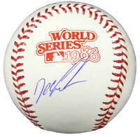 "Mets DWIGHT ""Doc"" GOODEN Signed Rawlings 1986 World Series Baseball - SCHWARTZ"