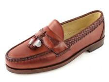 NEW Chestnut Brown ALLEN EDMONDS Maxfield Mocassin Tassel Loafers Shoes 9 D USA