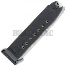 Glock 23 10-Round Magazine 40S&W G23 Factory Mag Gen-1/2/3/4 (Extended for 27)