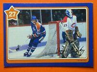 Wayne Gretzky 1982-83 Neilson's Gretzky #27 Deflecting Shots