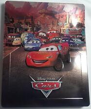 CARS on Blu-Ray DAMAGED STEELBOOK Disney Pixar 2006 Movie Region-Free UK Import