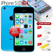New in Sealed Box APPLE iPhone 5C Blue 16GB 4G LTE Version Smartphone 1 Yr Wrty