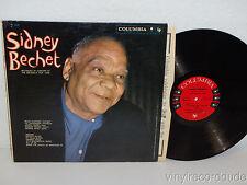 SIDNEY BECHET Record Live Brussels Fair 1958 LP Columbia CL 1410 MONO 6 Eye