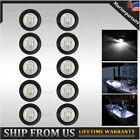 10 X 34 Round Led Marine Boat Courtesy Lights Deck Stair Transom Light 12v