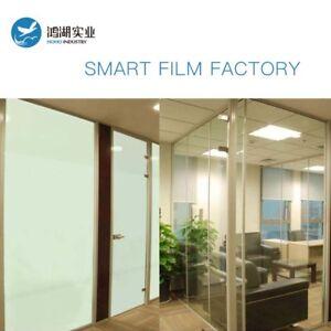Switchable Smart Glass Electrochromic PDLC Smart Film +1pc 50w Powersupply