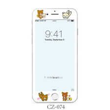 Lovely Relax Bear Rilakkuma Tempered Glass Screen Protector for iPhone 6S 7 8 8P