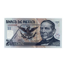 *jcr_m* MEXICO 20 PESOS 2005 P.116 *UNCIRCULATED*