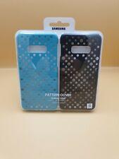 Original Samsung 2x Pattern Cover Galaxy S10e - Schwarz/Blaugrün