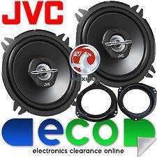 """Vauxhall Corsa C Front Door Speaker Upgrade 2000-2006 JVC 5.25"""" 13cm 500 Watts"""