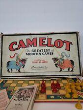 VINTAGE CAMELOT Board Game PARKER BROTHERS COPYRIGHT 1930 1931