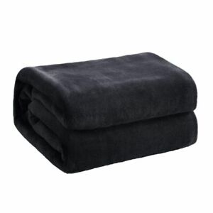 Winter Fuzzy Flannel Blanket Fluffy Warm Soft Sofa Cover Bedspread Plush Blanket