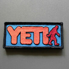 "Yeti Patch - 3.5"" x 1.5"" with Hook & Loop backing- inspired by GTA GTAV"