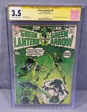 GREEN LANTERN #76 (Neal Adams signed, 1st Green Arrow Team-Up) CGC 3.5 DC 1970