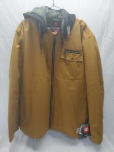 686 Garage Snowboard Snow Ski Winter Jacket Golden Brown XXLarge NEW