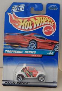 Baja Bug Volkswagen Custom Off Road VW Hot Wheels '98-694 Tropicool Card Variant