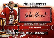 2012-13 Between The Pipes Auto #AJB Jacob Brennan
