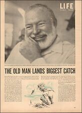 1954`Ernest Hemmingway`Life Article Photos Writer (011016)