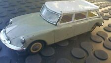 VINTAGE CITROEN SEDAN LIMOUSINE 60's CAR TIN TOY FRICTION CHINA MF 720 OLD LARGE