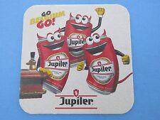 Fun Beer Coaster: Brasserie Piedboeuf JUPILER Biere ~ Jupille-sur-Meuse, BELGIUM