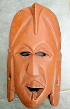 Wooden hand carved mask Home decor