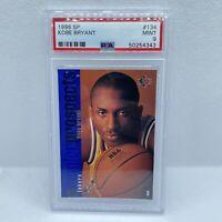 1996-97 SP #134 Kobe Bryant Los Angeles Lakers RC Rookie HOF PSA 9 MINT