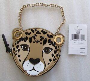 Kate Spade New York Run Wild Coin Bag Wristlet Purse Charm Key fob New $119
