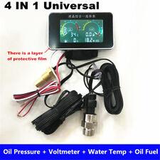 Digital Alarm 4 in 1 quad gauge Water Temper, Oil Pressure, Fuel, voltage