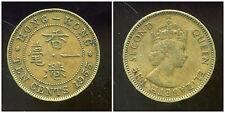 HONG KONG  10 ten cents 1955  ( bis )