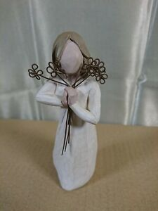 """Willow Tree """"FRIENDSHIP"""" figurine. By Demdaco / Susan Lordi 2004. Unboxed."""