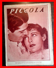 1935 - PICCOLA magazine FRANCIS LEDERER ROCHELLE HUDSON BETTY GRABLE JUNE TRAVIS