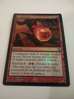 MTG Magic The Gathering Conflagrate - Foil 1x NM, English Time Spiral