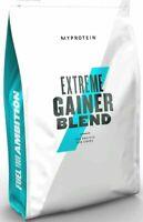 MyProtein Hard Gainer Extreme 2,5kg Mass Gain Weight Erdbeere Pulver Carbs Gains