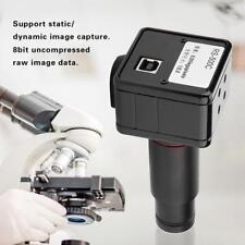 Microscopio Fotocamera Digitale 5MP USB Elettronico Oculare Lente Adattatore
