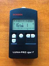 Gossen Luna Pro Digital F Light Meter