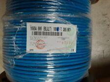1000ft Belden1695A RG-6 HD/SDI Plenum Low Loss Serial Digital 75 ohm Coax Cable.