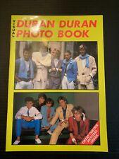 1984 Visual Duran Duran Photo Book